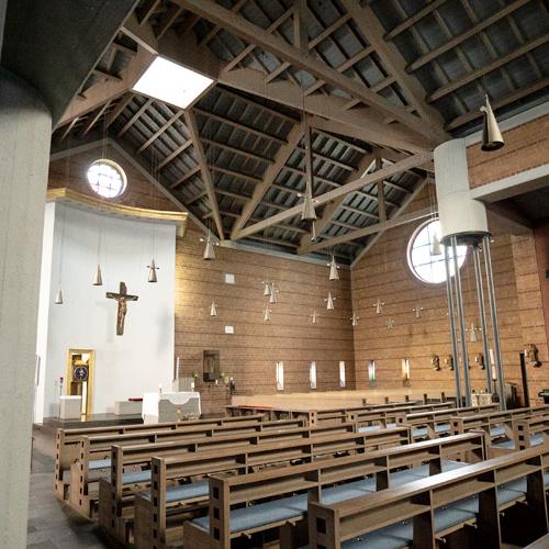 Kirche St. Marien in Hamm Innenansicht
