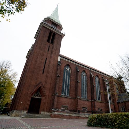 Kirche St. Stephanus in Hamm Außenansicht