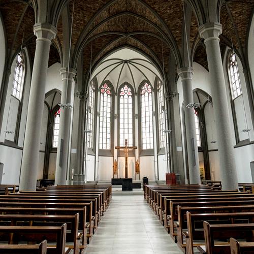 St. Stephanus Hamm Innenansicht